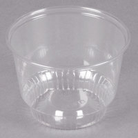 Solo SD8 8 oz. Clear Plastic Sundae Cup - 1000/Case