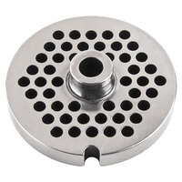 Avantco MG2246 #22 Stainless Steel Grinder Plate for MG22 Meat Grinder - 1/4 inch