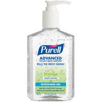 Purell® 9691-12 Advanced Green Certified 8 oz. Gel Instant Hand Sanitizer - 12/Case