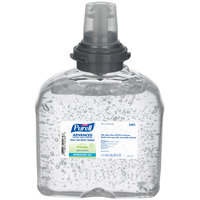 Purell® 5491-04 TFX Advanced Green Certified 1200 mL Gel Instant Hand Sanitizer - 4/Case
