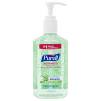 Purell® 3639-12 Advanced with Aloe 12 oz. Gel Instant Hand Sanitizer - 12/Case