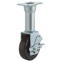 Pitco B3902304 9 inch Locking Casters - 4/Set