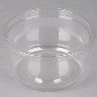 Genpak SC025 25 oz. Clear Round Supermarket Container - 50 / Pack