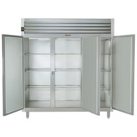 Traulsen RHT332NUT-FHS Stainless Steel 69.5 Cu. Ft. Three Section Narrow Reach In Refrigerator - Specification Line