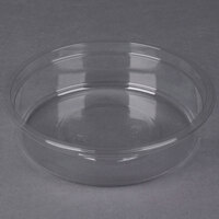 Genpak SC010 10 oz. Clear Round Deli Container   - 50/Pack