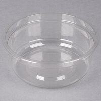 Genpak SC017 17 oz. Clear Round Supermarket Container - 50 / Pack