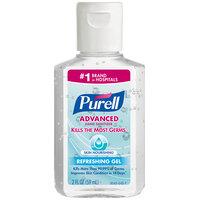 Purell® 9648-24 Advanced Skin Nourishing 2 oz. Gel Instant Hand Sanitizer - 24/Case