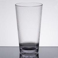 GET 4420-CL Luxury 20 oz. Clear Customizable Tritan Plastic Tumbler - 24/Case