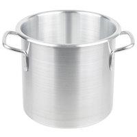 Vollrath 4302 Wear-Ever 9 Qt. Classic Aluminum Rolled Edge Stock Pot
