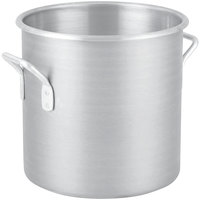 Vollrath 4302 Wear-Ever 9 Qt. Classic Aluminum Rolled Edge Stock Pot