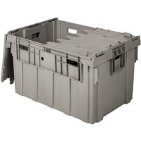 Eastern Tabletop 0408 Stack N' Store 34 inch x 24 inch x 20 inch Gray Chafer Box