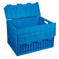 Eastern Tabletop 0204 Stack N' Store 27 1/4 inch x 17 inch x 12 1/2 inch Blue Chafer Box