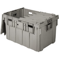 Eastern Tabletop 0306 Stack N' Store 28 inch x 20 3/4 inch x 15 1/2 inch Gray Chafer Box