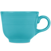 Homer Laughlin 452107 Fiesta Turquoise 7.75 oz. Cup   - 12/Case