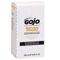 GOJO® 7255-04 TDX 2000 mL Natural Orange Pumice Hand Cleaner - 4 / Case
