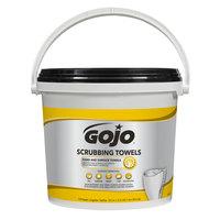 GOJO® 6398-02 Scrubbing Towels Heavy Duty Wipes 170 Count Bucket - 2/Case