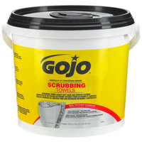 GOJO® 6398-02 Scrubbing Towels Heavy Duty Wipes 170 Count Bucket - 2/Case