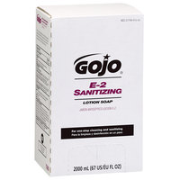 GOJO® 7280-04 TDX 2000 mL E2 Sanitizing Lotion Soap - 4 / Case