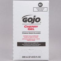 GOJO® 7290-04 TDX 2000 mL Cherry Gel Pumice Hand Cleaner - 4/Case