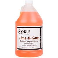 Noble Chemical 1 Gallon / 128 oz. Lime-B-Gone Delimer / Descaler - 4/Case