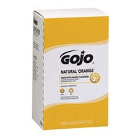 GOJO® 7250-04 TDX 2000 mL Natural Orange Smooth Hand Cleaner - 4/Case