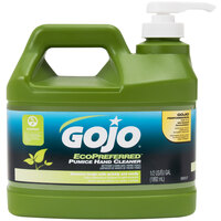 GOJO® 0937-04 1/2 Gallon Ecopreferred Pumice Hand Cleaner - 4 / Case