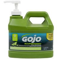 GOJO® 0937-04 1/2 Gallon Ecopreferred Pumice Hand Cleaner   - 4/Case