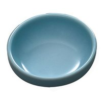 Thunder Group 3965 Blue Jade 15 oz. Round Melamine Bowl - 12/Case