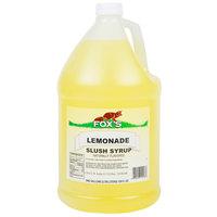 Fox's Lemonade Slush Syrup - 1 Gallon
