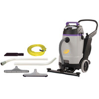 ProTeam 107360 20 Gallon ProGuard 20 Wet / Dry Vacuum with Tool Kit and Front Mount Squeegee - 120V