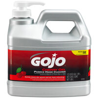 GOJO® 2356-04 1/2 Gallon Cherry Gel Pumice Hand Cleaner - 4 / Case