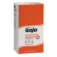 GOJO® 7556-02 TDX 5000 mL Natural Orange Pumice Hand Cleaner   - 2/Case