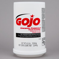 GOJO® 1115-06 4.5 lb. Original Formula Hand Cleaner   - 6/Case
