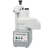 Robot Coupe R301C Continuous Feed Food Processor - 1 1/2 hp