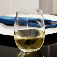 Libbey 207 Customizable 9 oz. Stemless Wine Glass - 12/Case