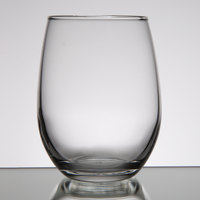 Libbey 207 9 oz. Stemless Wine Glass - 12/Case