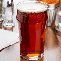 Acopa 20 oz. English Pub / Nonic Glass - 12/Case