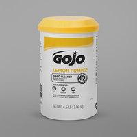 GOJO® 0915-06 4.5 lb. Lemon Pumice Hand Cleaner - 6/Case