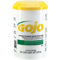 GOJO® 0915-06 4.5 lb. Lemon Pumice Hand Cleaner - 6 / Case