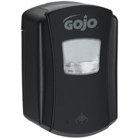 GOJO® 1386-04 LTX-7 700 mL Black Touchless Hand Soap Dispenser