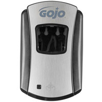 GOJO® 1388-04 LTX-7 700 mL Chrome Touchless Hand Soap Dispenser