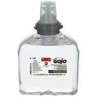 GOJO® 5364-02 TFX 1200 mL E2 Foam Sanitizing Soap - 2 / Case
