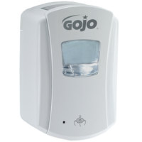 GOJO® 1380-04 LTX-7 700 mL White Touchless Hand Soap Dispenser - 4 / Case
