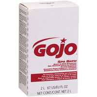 GOJO® 2252-04 NXT Spa Bath 2000 mL Herbal Liquid Hand, Hair, and Body Wash - 4/Case