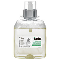 GOJO® 5165-03 FMX-12 Green Certified 1250 mL Fragrance Free Foaming Hand Soap - 3/Case