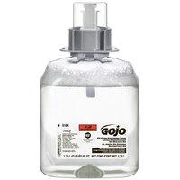 GOJO® 5164-03 FMX-12 E2 1250 mL Fragrance Free Foaming Sanitizing Hand Soap - 3/Case