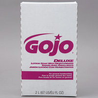 GOJO® 2217-04 NXT Deluxe 2000 mL Floral Lotion Hand Soap with Moisturizers - 4/Case