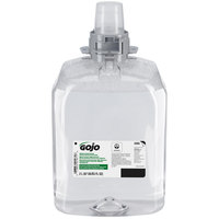 GOJO® 5265-02 FMX-20 Green Certified 2000 mL Fragrance Free Foaming Hand Soap - 2/Case