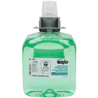 GOJO® 5163-03 FMX-12 Green Certified 1250 mL Cucumber Melon Foaming Hand, Hair, and Body Wash - 3/Case