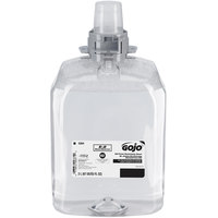 GOJO® 5264-02 FMX-20 E2 2000 mL Fragrance Free Foaming Sanitizing Hand Soap - 2/Case